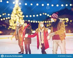 Skating Rink, Happy Friends, Banner Printing, Facebook Image, Single Image, Christmas Images, Model Release, Image Photography, Skate