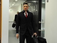 And this is what he looks like when he arrives to games: | Meet Olivier Giroud, The Really, Really Ridiculously Good-Looking Soccer Player
