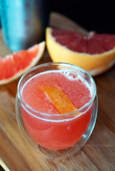 Melody Gourmet Fury | Austin Food Writer and Photographer » Texas Grapefruit Cocktail Recipe, Negroni Inspired