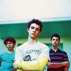 Jonas Brothers rare 2005 or 2006   by Nick J