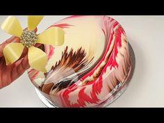 Cum sa faci Cheesecake cu fructe in glazura oglinda - YouTube Fruit Cheesecake, Forest Fruits, Mirror Glaze Cake, Cupcake Cakes, Cupcakes, White Chocolate, Mousse, Yogurt, Birthday Cake