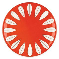 Enjoy the retro look and fun feel of this The Burbs Collection Dinner Plate from…