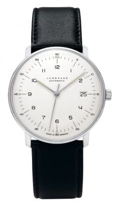 Junghans Max Bill Automatic 027/4700.00 - Max Bill Watches - Junghans Clocks ($500-5000) - Svpply