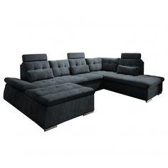 Canapé panoramique Puntiro II Achetez vos meubles en ligne sur home24 : une grande sélection de produits livrés gratuitement à votre domicile !