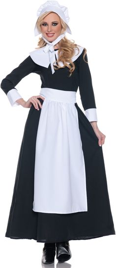 Proper Pilgrim Woman Adult Costume from BuyCostumes.com
