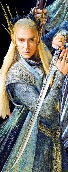 Thranduil the hobbit lee pace sword costume