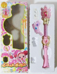 Ojamajo Magical Doremi sharp Picot Poron Magic Wand Missing accessories Bandai