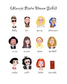 Manic Pixie Dream Girls Print
