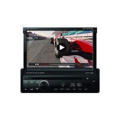 """Estéreo HF Audio HF7100UB con pantalla táctil motorizada 7"""""""
