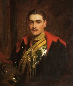 Mr Philipps' Nephew (Captain the Honourable Colwyn Erasmus Arnold Philipps, 1888–1915), in the Uniform of the Horse Guards