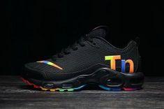 81dae4272bb Dazzling Nike Mercurial TN KPU Black Multi-Color Women s Men s Trainers  Running Shoes Nike Air