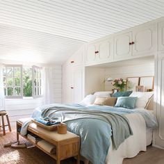 ¡Estos dormitorios lo tienen todo!