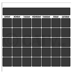 Chalkboard vinyl calendar with black vinyl days of the week x Chalkboard Vinyl, Adulting, Calendar, Amazon, Day, Black, Riding Habit, Black People, Amazon River