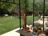 Gloriette kiosque de jardin fer forg pinterest for Kiosque de jardin en fer forge