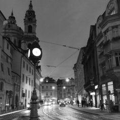 Karmelitska street, Prague by Roman Rogner on 500px