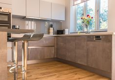 C&C Kitchens have designed & installed beautiful, bespoke kitchens to North London, Essex & Hertfordshire for 20 Years. See our German Kitchens & Kitchen In, German Kitchen, Kitchen Design, Handleless Kitchen, Bespoke Kitchens, Moonlight, Grey, Furniture, Home Decor