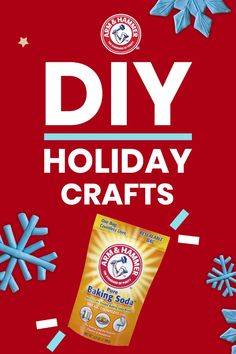 Get crafty this holiday season with DIY projects for the whole family with Arm & Hammer™ Baking Soda. From candy cane slime to holiday play clay, these fun and easy holiday activities will surprise and delight gues Christmas Crafts For Kids, Holiday Crafts, Christmas Diy, Holiday Party Games, Holiday Activities, Sand Crafts, Diy Projects For Kids, Craft Day, Crafts To Make