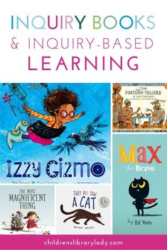 Explore 27 inquiry books to use alongside inquiry-based learning in your classroom. They show curious characters going through the inquiry process. Inquiry Based Learning, Learning Resources, Ib Learner Profile, The Most Magnificent Thing, Growth Mindset Book, Book Lists, Reading Lists, Research Skills, Natural Curiosities