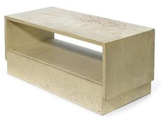 Occasional table by Rudolph M. Schindler