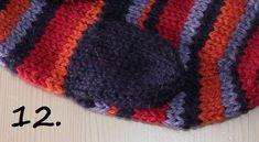 Hvordan strikke tommel på vott; en step by step forklaring H Design, Knitted Hats, Winter Hats, Knitting, Fashion, Knit Hats, Moda, Tricot, La Mode