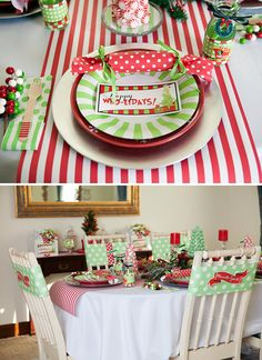 Christmas Who-liday Grinch Party // Hostess with the Mostess®