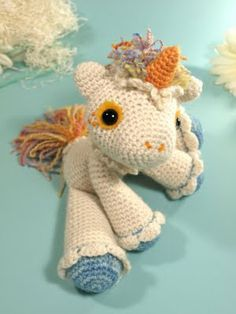 Free pattern unicorn I so want to make this for a certain little 3 year old friend who loves my little pony