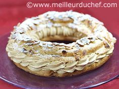 Paris-Brest recipe en francais with wonderful how to photos
