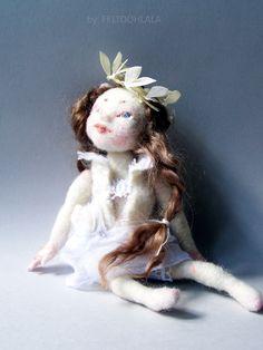 little pixie doll by FELTOOHLALA