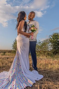 New York Meets South Africa Wedding: Morning Precious One. I've had this New York meets Africa wedding at the foref Couples African Outfits, African Dresses For Women, African Print Dresses, Couple Outfits, Sepedi Traditional Dresses, African Traditional Wedding Dress, African Wedding Attire, South African Weddings, Africa Fashion