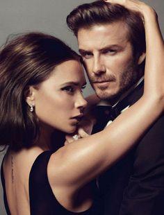 ☆ Victoria & David Beckham | Photography by Inez & Vinoodh | For Vogue…