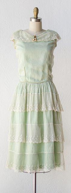 vintage 1920s NOTTINGHAM DEW dress | #vintage #1920s