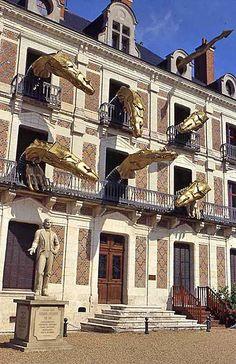 Blois - maison de la magie , France