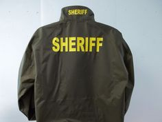 American Reflective Call us at : 781-848-1235 Email: AmericanReflective@gmail.com We do custom EVERYTHING!! Check out our Ebay store http://www.ebay.com/itm/Sheriff-Raid-Jacket-Free-Shipping-/151785956383?var=&hash=item6900a65a4a #sheriff #police #jacket #work #Workshirt #uniform