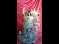 Making A Frozen Cake! - YouTube