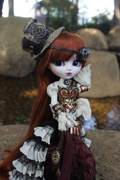 Steampunk doll video series part 3 (Aurora) By Mes Crazy Experiences