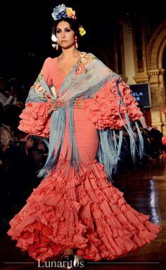 DSC_4817 Flamenco Dancers, Flamenco Dresses, Spanish Dress, Bohemian Style, Boho, Orange And Turquoise, Yes To The Dress, Haute Couture Fashion, Art Girl