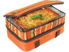 Rachael Ray 9x13-in. Expandable Lasagna Lugger: Orange