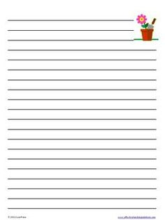 22 Best A4 Lined Paper Templates images | Lined writing ...