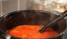 Köttfärsbloggens extra goda tomatsås - Köttfärsbloggen.se  #tomatsås #mat #middag