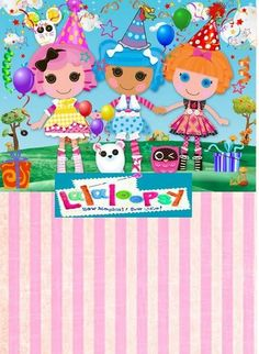 Lalaloopsy party invitation free template just fill in with your lalaloopsy photo new filmwisefo