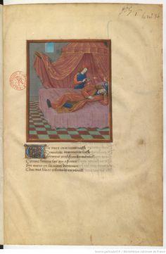 Le livre du Coeur d'amour épris, par le roi René d'Anjou. 1401-1500