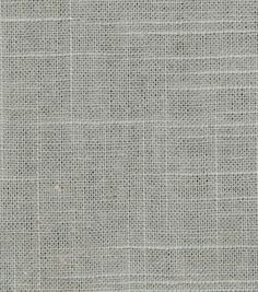 Upholstery Fabric-Robert Allen Linen Slub-Greystone  Dining Chairs?