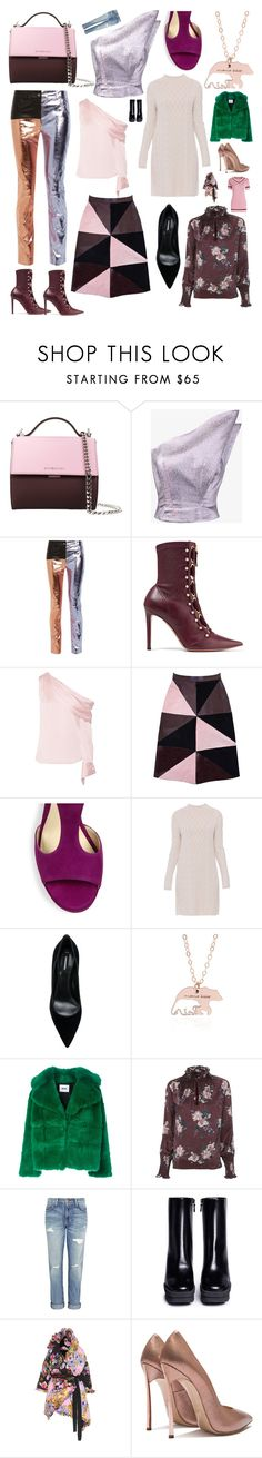 """Some of my favorite things #83"" by andyarana ❤ liked on Polyvore featuring Givenchy, Vika Gazinskaya, Haider Ackermann, Altuzarra, Monse, Florence Bridge, Jimmy Choo, 'S MaxMara, Dsquared2 and MSGM"