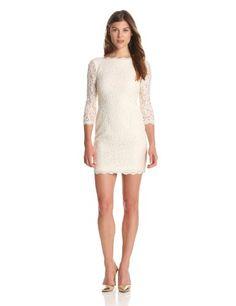 Adrianna Papell Women's Long Sleeve Lace Dress, Cream, 6 Adrianna Papell,http://www.amazon.com/dp/B00BPS1SNY/ref=cm_sw_r_pi_dp_g3Q2rb01W37818JZ