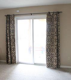 Sliding Door Curtains For The Home Pinterest Sliding Door - Window coverings for patio doors