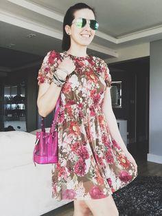 Vestido Floral - summer 2018