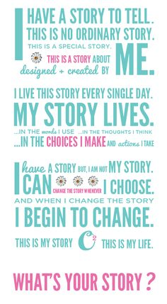 I have a story ... What's Your Story?   #origamiowl #loveo2 #whatsyourstory