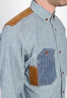 yeah, the pockets....But also the rectangular collar.   dstore:    Junya Watanabe