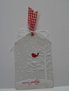 Christmas Tag for Loll's Event by suen - Cards and Paper Crafts at Splitcoaststampers