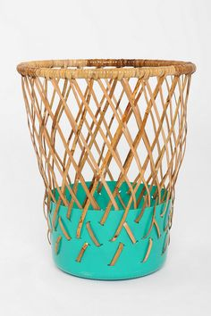 Diamond Weave Contrast Bottom - Urban outfitters {this would make an awesome laundry basket}
